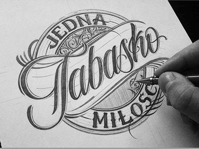 Clothing Design Inspiration   Tabasko Clothing Logo Designs Pinterest Typography Lettering