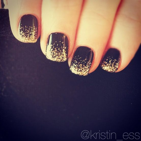 new years party mani idea. tutorial coming next week! xo #nails