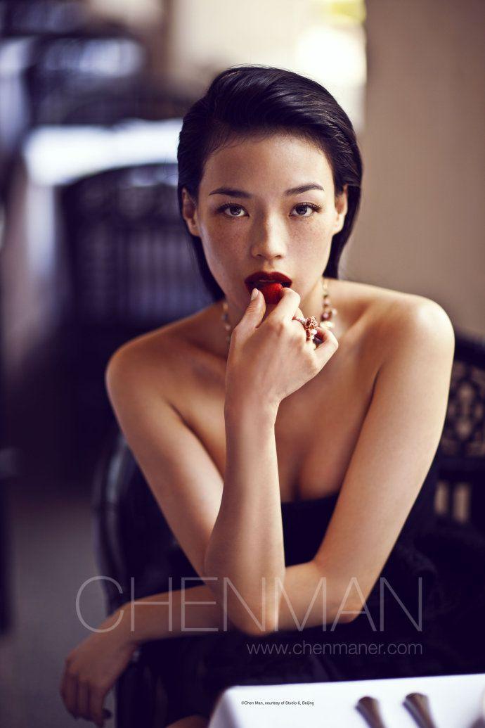 舒淇 - Shu Qi, Chinese actress by photographer Chen Man
