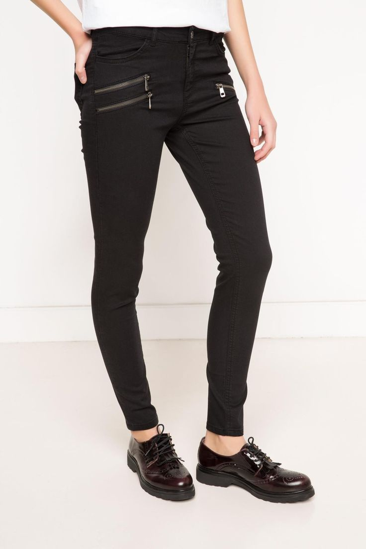 DeFacto Marka Agata Denim Süper Skinny Pantolon || Skinny dar paçası ile size fit bir görünüm kazandıracak, şık ve rahat DeFacto bayan denim pantolon                        http://www.1001stil.com/urun/3251249/agata-denim-super-skinny-pantolon.html?utm_campaign=DeFacto&utm_source=pinterest