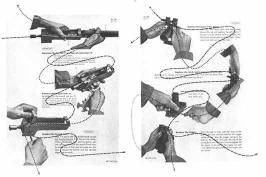 30 Glorieuses aux Etats Unis :  Will Burtin : manuel de l'armée de l'air.