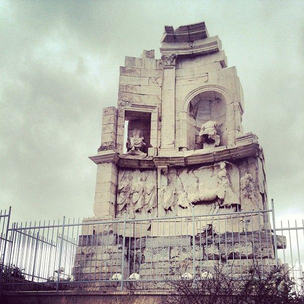 Μνημείο Φιλοπάππου (Philopappos Monument) in Αθήνα, Αττική