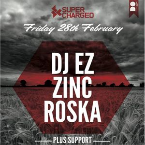 Fri 28 Feb , 2014 Supercharged are bringing together a trio of bass music stalwarts for a very special Friday night, we have two UK pioneers of Jungle and Garage music, alongside UK Funky House king pin Roska.  With solid footholds in the London and greater UK bass circuits, these 3 individually tear up clubs up and down the country and we are bringing them together for a very special Friday night.  Tickets £12+bf This will sell out so click the image to purchase your tickets now!