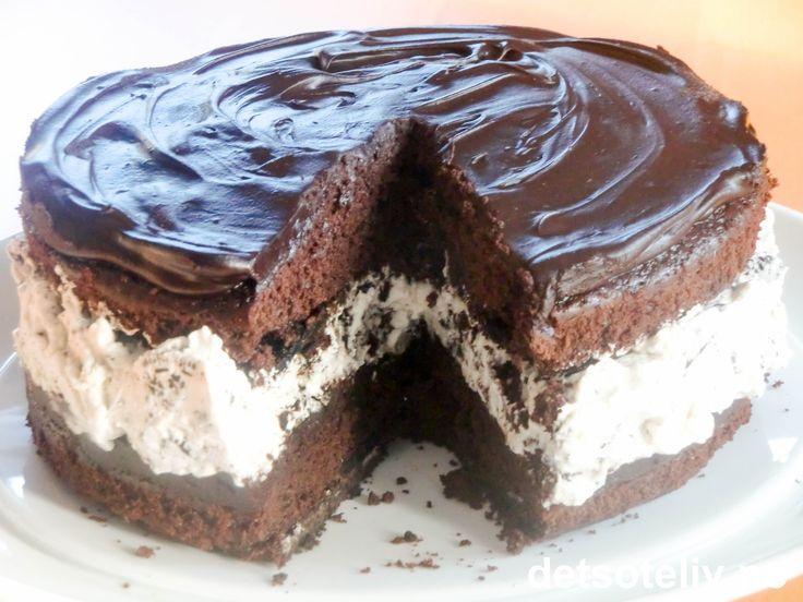 Oreo sjokoladekake (s. 65 i Det søte liv)