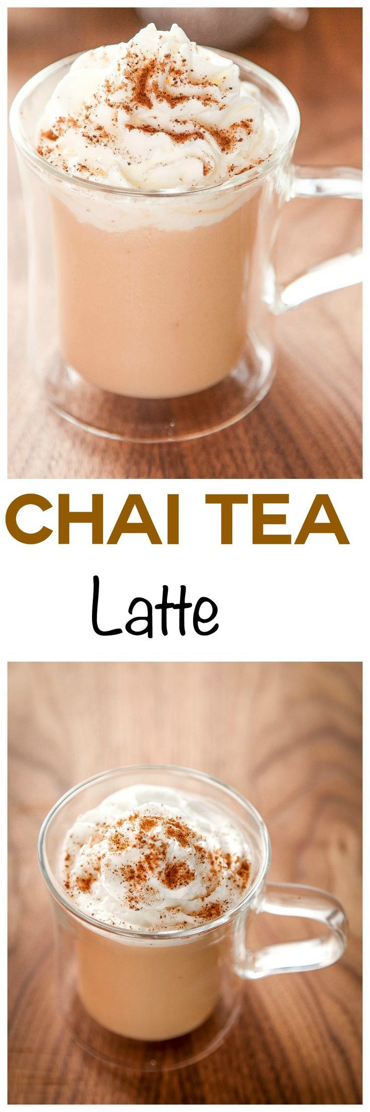 Chai Tea Latte: Warming chai spices and comforting tea make this beverage perfect for chilly days. Ready in less than 10 minutes!