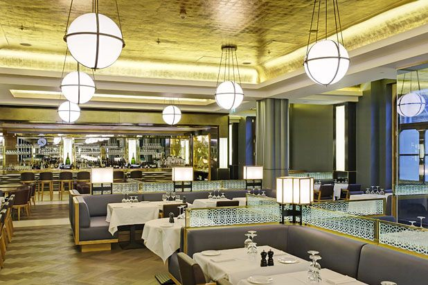 St Pancras Grand Restaurant, London