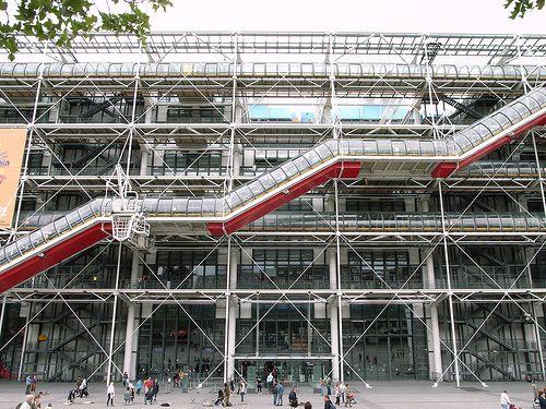 17 best images about centre georges pompidour on pinterest - Centre george pompidou architecture ...
