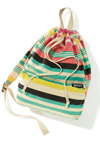 Roxy Cinch Top Backpack (Girls)