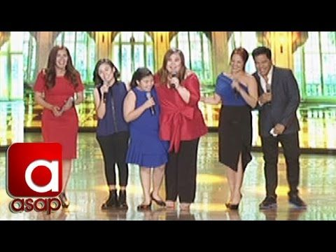 This is the segment of ASAP of Sharon Cuneta's birthday production number with Zsa Zsa Padilla, Martin Nievera, and Sharon Cuneta's family. #SharonCuneta #MartinNievera #ZsaZsaPadilla #ASAP #ASAPMegaParty
