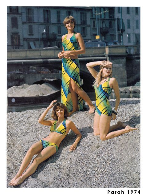 Colours and shapes of timeless beauty! Here's a snapshot from the 1970s straight from our archives.