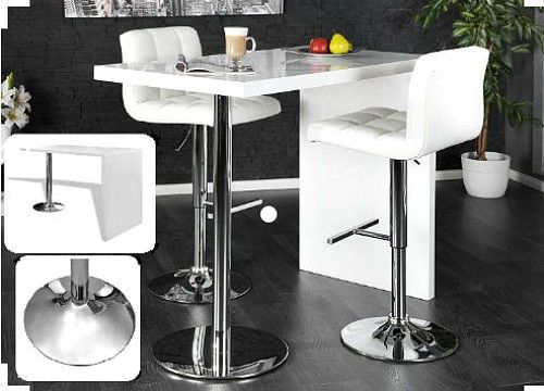 31 Best Kitchen Breakfast Bar Table High Gloss White