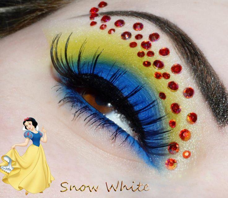 Disney's Snow White Inspired Eye Makeup!