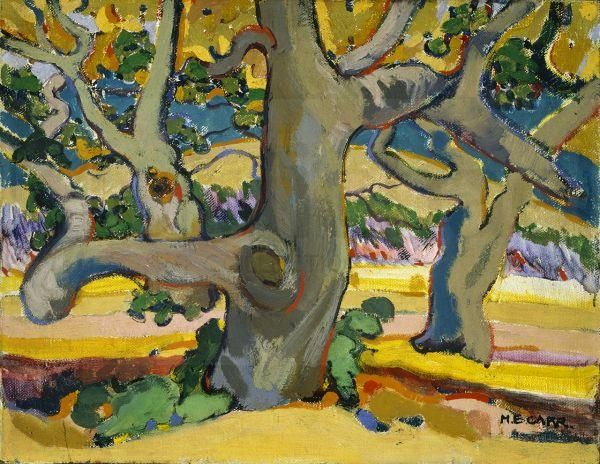 Emily Carr - Trees in France