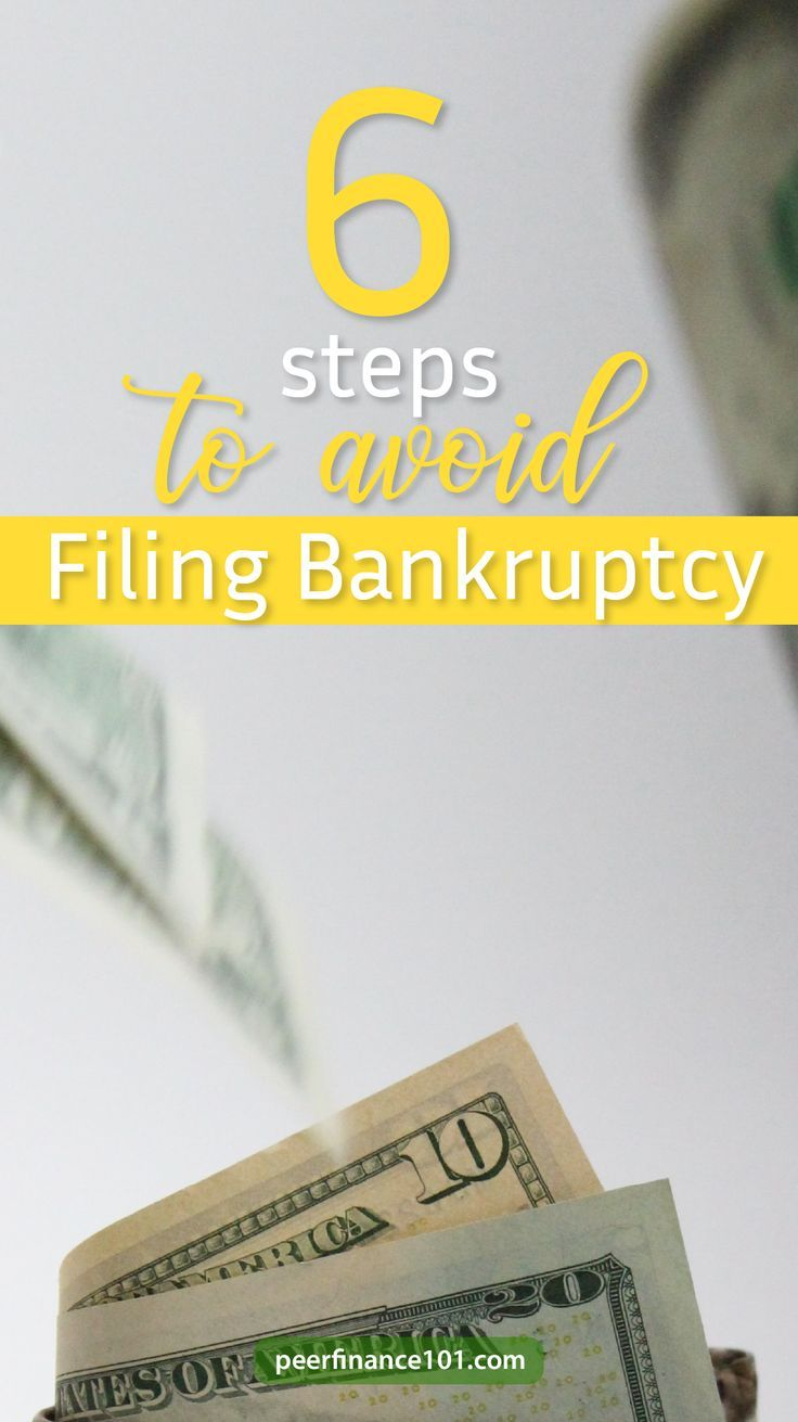 Six Step Simple Strategy To Avoid Bankruptcy In 2020 Filing Bankruptcy Bankruptcy Personal Finance Blogs