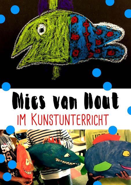 """Mies van Hout / """"Heute bin ich"""" im Kunstunterricht … zeichnerische und plastis… – schön ink"""