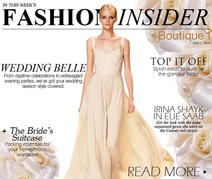 THE WEDDING EDITION   Boutique1 – Fashion Insider