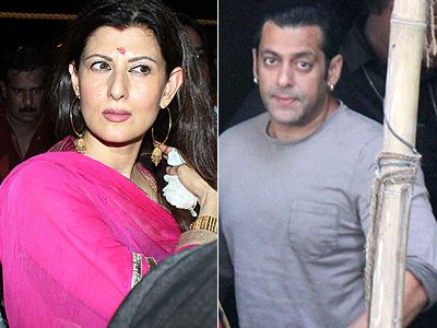 Salman's Ganesh Chaturthi with ex Sangeeta Bijlani!