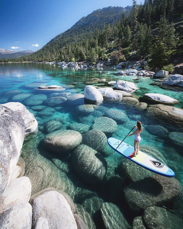 "Tierra en Twitter: ""Veranos en el lago Tahoe …"""