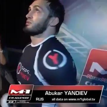 @yandiev_brothers ・・・ Выход Абукара @abukar_yandiev_01 на #M1Challenge68 - 🎵Али Димаев - Г1алг1айче - #m1 #yandiev #mma #ufc200 #ufc #fight #russia #judo #bjj #ингушетия #спорт