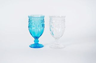 can can clear tumbler (12oz.) from Montana Party Rentals. Like the Aqua colored ones!
