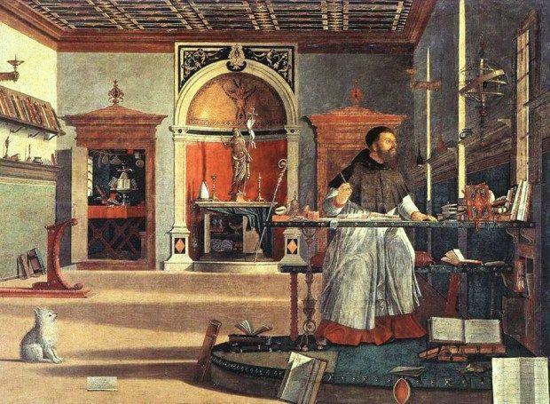 Visión de San Agustín, 1502. Vittore Carpaccio (1466-1525)                                                                                                                                                                                 Más