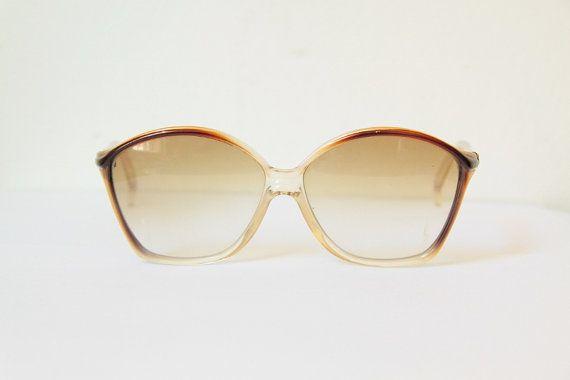 70s Revillon sunglasses, butterfly French designer glasses ...