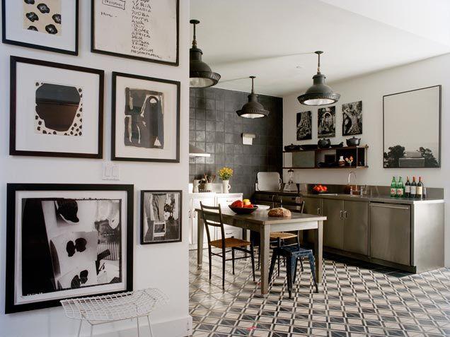Kitchen - industrial style