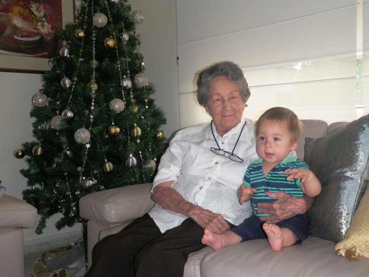 with grandgrand mother