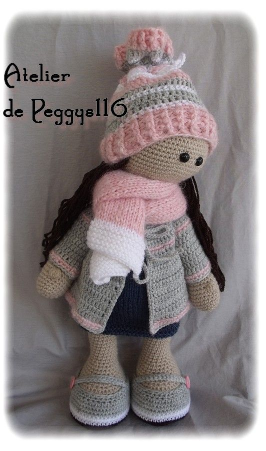 Julia Doll  crochet ♡