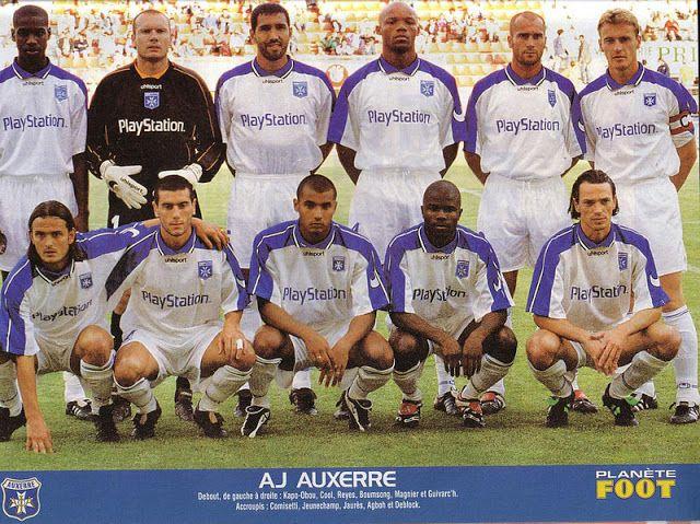 AUXERRE 2000/2001