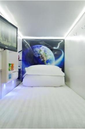 Kaiteki, le premier hôtel capsule de Saigon au Vietnam via w3sh.com