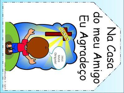 Adalia Helena: Lição 06: Na Casa do meu Amigo eu agradeço: REVISTA Jardim de Infância de 5 e 6 anos