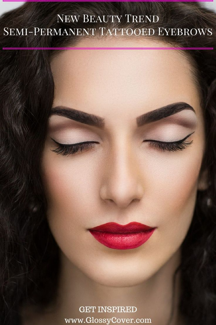 New Beauty Trend: Semi-permanent Tattooed eyebrows and who should consider them