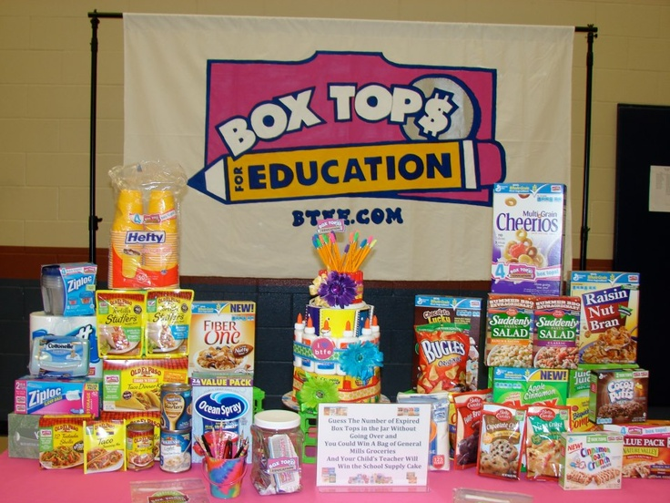 Box Tops Booth & 365 best Box Top ideas images on Pinterest | Box tops Fundraising ... Aboutintivar.Com