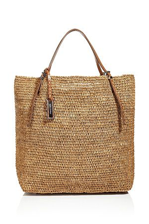 Michael Kors Rafia Beach Bag