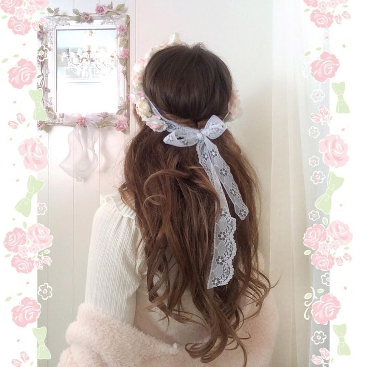 Flowercrown with bow