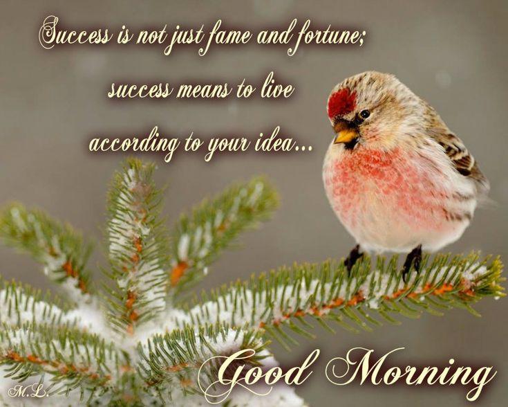 Úspěch to není jen sláva a bohatství; úspěch znamená žít podle vlastních představ ...