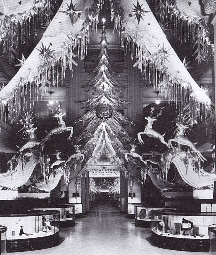Decorate Christmas Tree Like Department Stores: 17 Best Images About Vintage Department Store Christmas On
