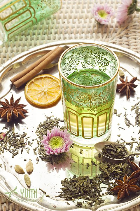 Moroccan Mint Green tea - Yumi Photography --- www.facebook.com/yumiphotoart ---
