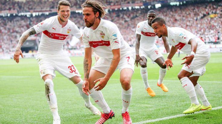 Stuttgarter Affentanz (Ginczek, Harnik, Rüdiger und Didavi v.l.) - Long live the Huub Stevens' monkeys lol - VfB Stuttgart 1893 e.V. won 2:1 vs HSV! http://www.bild.de/bundesliga/1-liga/saison-2014-2015/spielbericht-vfb-stuttgart-gegen-hamburger-sv-am-33-Spieltag-36651198.bild.html http://www.bild.de/bundesliga/1-liga/saison-2014-2015/vfb-stuttgart-gegen-hamburger-sv-am-33-Spieltag-36651200.bild.html   http://www.bild.de/bundesliga/1-liga/home-1-bundesliga-fussball-news-31035072.bild.html
