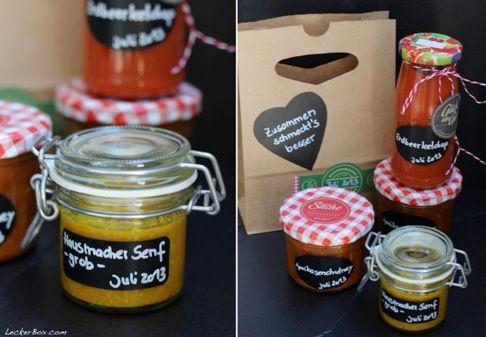 Hausgemachter Senf - für den Mädelsabend zur Käseprobe...