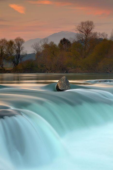 Manavgat Waterfall, Manavgat River, Turkey.