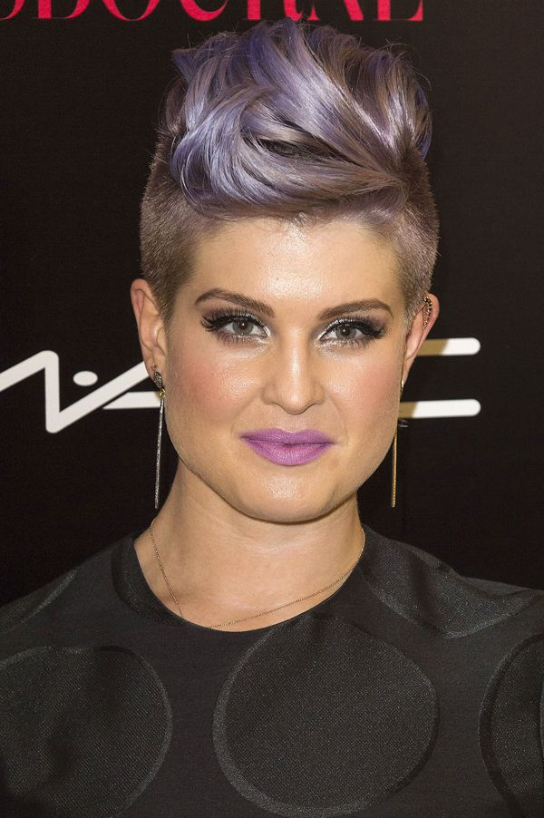 Proof That Purple Hair Was Always Awesome #refinery29  http://www.refinery29.com/celebrity-purple-hair#slide13  Kelly Osbourne's dusty lilac hair has been her signature for years, and we actually can't imagine her without it.