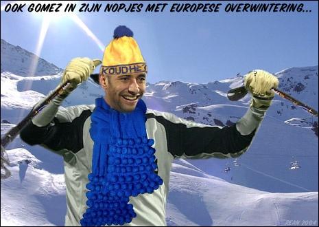 Een oude fotosoep uit 2004 voor de online fotosoepcompetitie van www.vi.nl. In zijn eerste seizoen bij PSV zorgde Heurelho da Silva Gomes er mede voor dat PSV eindelijk weer eens overwinterde in de Champions League