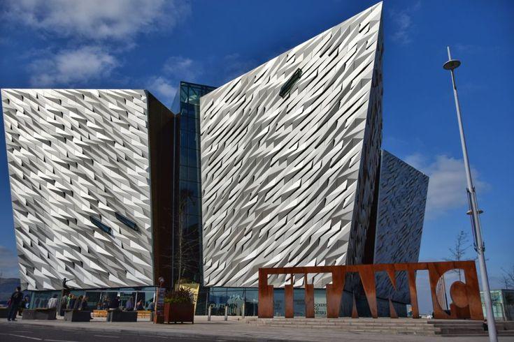L'architettura del Titanic Belfast mi piace un sacco!