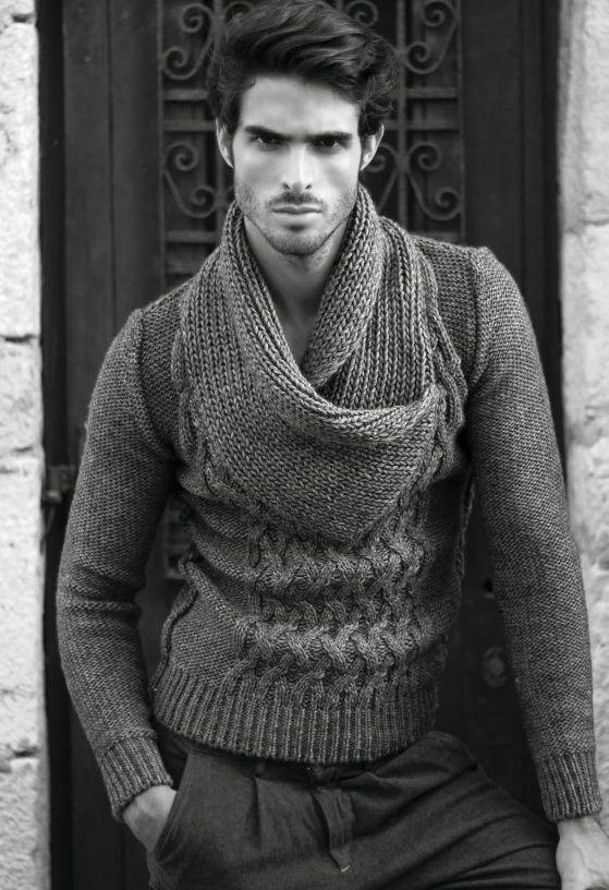 Man Knitting Meme : Juan betancourt chunky knit sweater my style