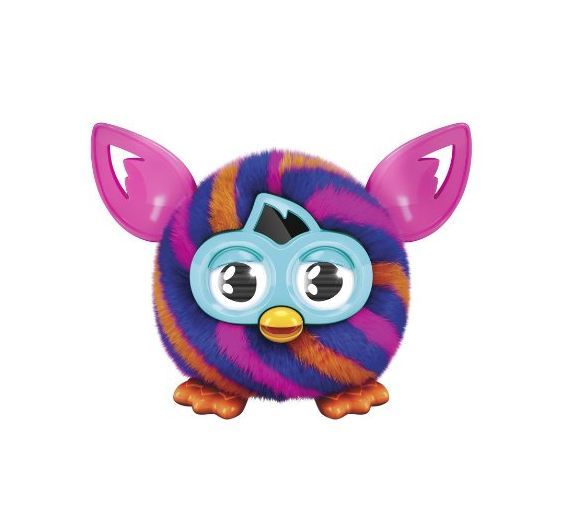 Furby Furbling Critter (Orange and Blue Diagonal Stripes) - https://www.perutienda.pe/producto/furby-furbling-critter-orange-and-blue-diagonal-stripes/