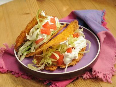 Cheddar Cheese Taco Shells Recipe | Marcela Valladolid | Food Network