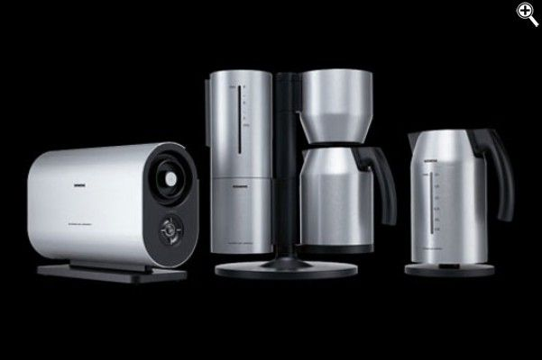 Toaster Coffee Machine And Kettle From Porsche Design By