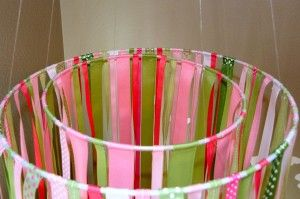 Make a Ribbon Chandelier with Your Hula Hoop: http://www.hooping.org/2012/11/make-a-ribbon-chandelier-with-your-hula-hoop/